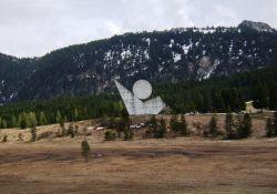 Nationaldenkmal auf dem Glières-Plateau
