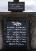 Denkmal auf dem Friedhof