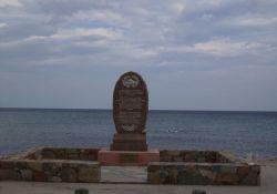 Denkmal am Strand