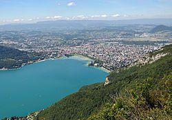 Blick auf Annecy und See