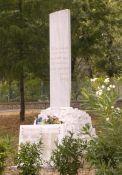 Denkmal in der Viale delle Miniere