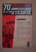 Plakat für Louis Frediani, Ajaccio