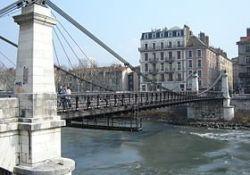 Hängebrücke 'pont supendu'; Quelle: Wikipedia