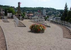 FFI-Denkmal, Friedhof Puy-Saint-Clair (© Michel Cantillon, genweb)
