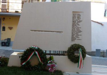 Denkmal für die ermordeten Partisanen