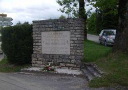 Gedenktafel getötete AS-Résistants
