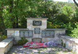 Denkmal an der Ferme Monteau