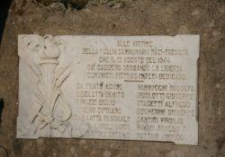 Tafel für die ermordeten Kommunisten