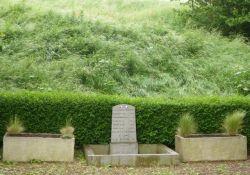 Stele der fünf 1944 Erschossenen