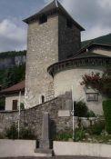 Denkmal an Kirche, Ortsteil Côtes