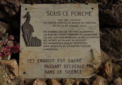 Grotte de la Luire, Maquis-Krankenstation; Quelle: ladrometourisme.tv
