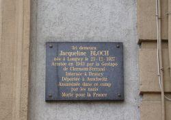 Gedenktafel J. Bloch