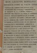 Gedenktafel für Don Giuseppe Bernardi