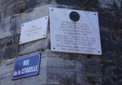 Gedenktafel Stoßbataillon