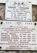 Gedenktafel für sechs Tote des Volksaufstands (© Claude RICHARD)