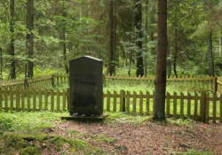 Gedenkstätte Geriulai I für die ermordeten hundert Männer (Holocaust Atlas)