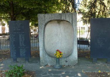 Gedenkstätte an der Piazza Tasso