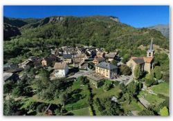 Blick auf die Ortsmitte; © Mairie de Villargondran