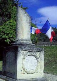 Denkmal Maquis de Sainte-Croix; Quelle: cvrdvaucluse.canalblog