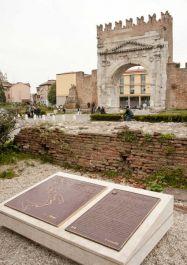 Gedenktafeln für die kanadische Beteiligung an der Befreiung Riminis