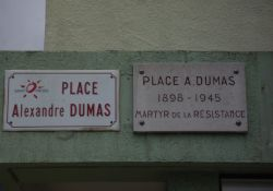Gedenktafel Alexandre Dumas