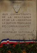Dank an die Résistance für die Befreiung