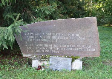 Erster Gedenkstein