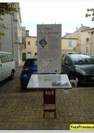 Info-Tafel; Quelle: Yves Provence, my waymarks