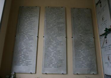 Gedenkstätte auf dem Friedhof Rifredi (Foto: Baldini)