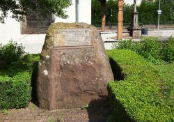 Gedenkstein José Caja