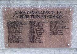 Totentafel der Cie Pons