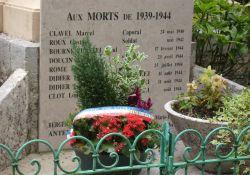 Totendenkmal – Ausschnitt