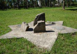 Gedenkort II  auf den alten jüdischen Friedhof
