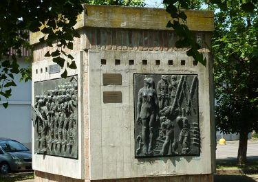 Denkmal auf der Piazza della Resistenza