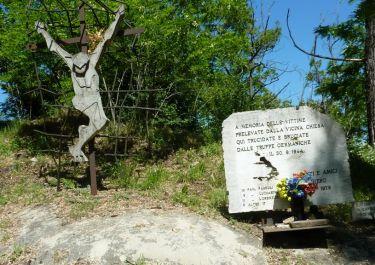 Gedenkstätte auf dem Monte Sole