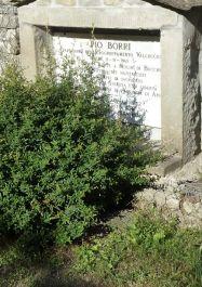 Grabmal von Pio Borro