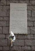 """Gedenktafel für L'Herminier u. U-Boot """"Casabianca"""""""