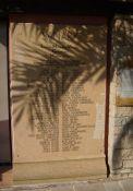Gedenktafel am Tourismusbüro