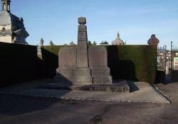 Gedenksäule für israelitische Opfer der Nazi-Barbarei
