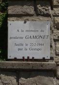 Gedenktafel Jean Gamonet