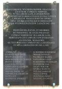 Gedenktafel am Lycée Norwid in Paris; Quelle: Widipedia