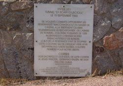 Gedenktafel für die während der Kämpfe gefallenen Patrioten