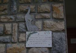 Gendarmerie: Gedenktafel an E. Hervé