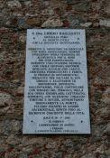 Tafel für Don Libero Raglianti