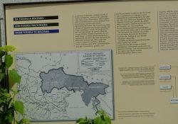 Informationstafel Operationszone Alpenvorland