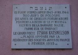 Gedenktafel für polnische Juden