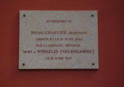 Gedenktafel Michel Charvier