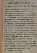 Gedenktafel für Antonio Vassallo