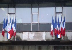 'Compagnon de la Libération', Rathaus-Innenhof