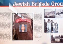 Informationstafel zur Jüdischen Brigade